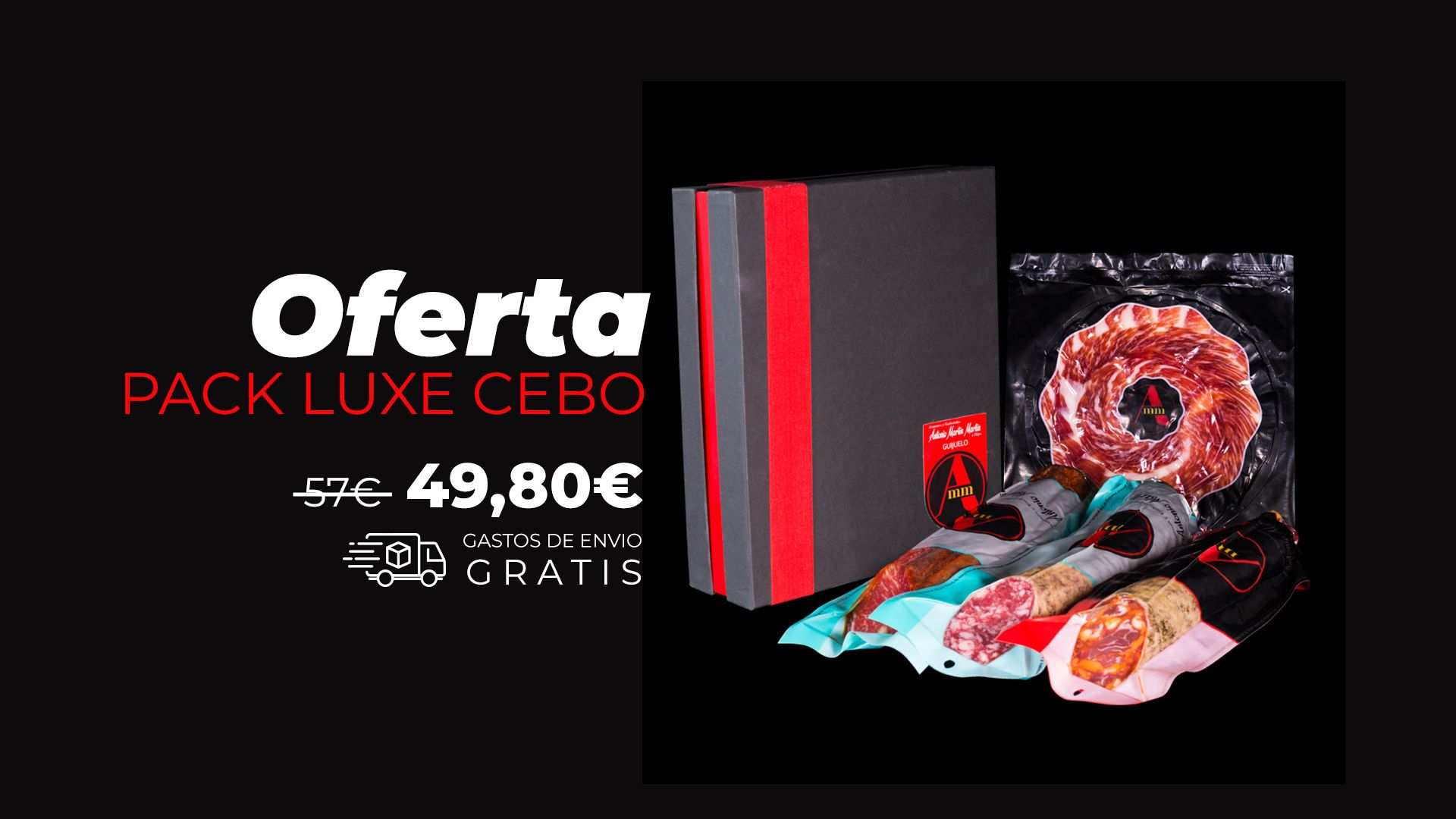 Oferta Pack Luxe Cebo